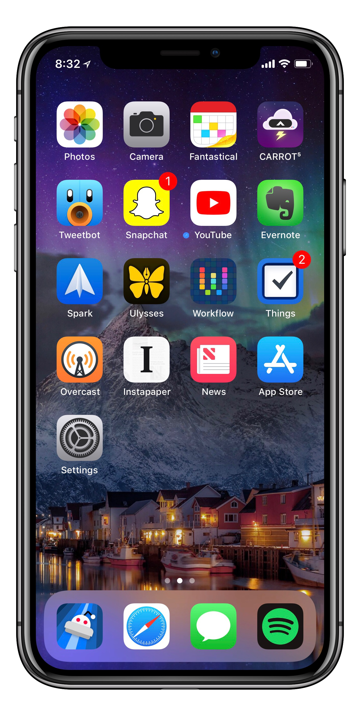 My iPhone Home Screen – The Nerdy Student
